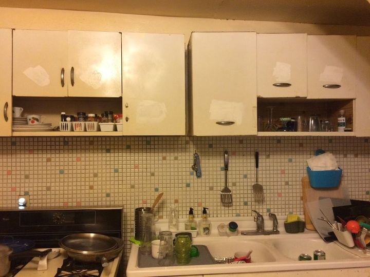 I Have Metal Cabinets In The Kitchen Would Like To Fix Them Up A - How to fix up metal kitchen cabinets