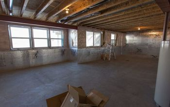 Modern Farmhouse Basement Before & After