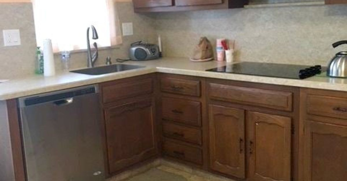 Painting 1970 S Kitchen Cabinets Hometalk