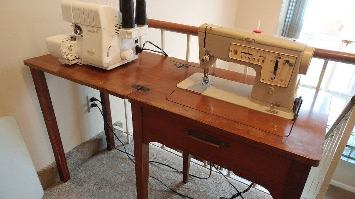 Removable Legs For Drop Leaf Sewing Machine Hometalk Impressive Drop In Sewing Machine Table