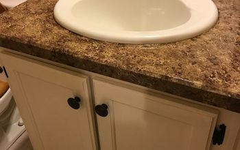 Bathroom Counter-top Make Over