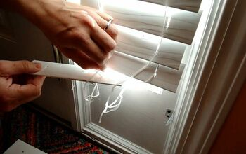 Installing Faux Wood Window Blinds