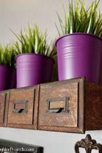 diy floating shelves with secret storage