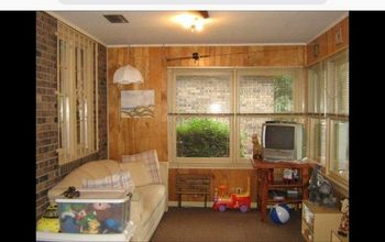 my sunroom makeover, pic of listing of house
