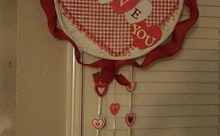 easy valentine wreath