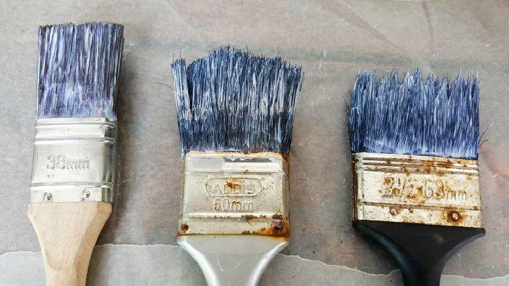 off the wall repurposed paint brush hooks