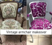 my first reupholstery makeover