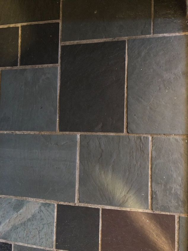 I Have 1970s Slate Tile In Entryway Inside Can U Paint Over Slate