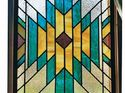 q how do i make a light box faux stained glass window