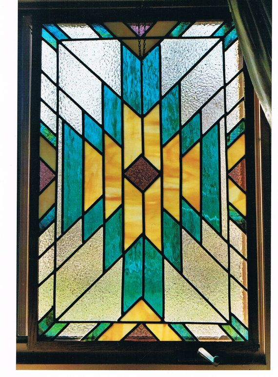 How do I make a light box faux stained glass window ...