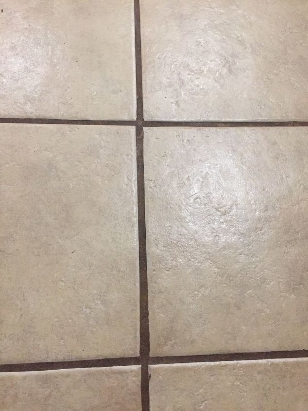 I Have A Light Color Grout In My Ceramic Floor In My Kitchen And I