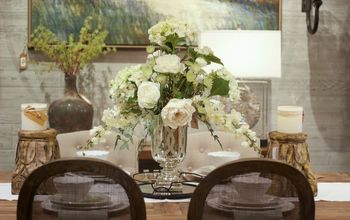 how to create an elegant silk floral arrangement