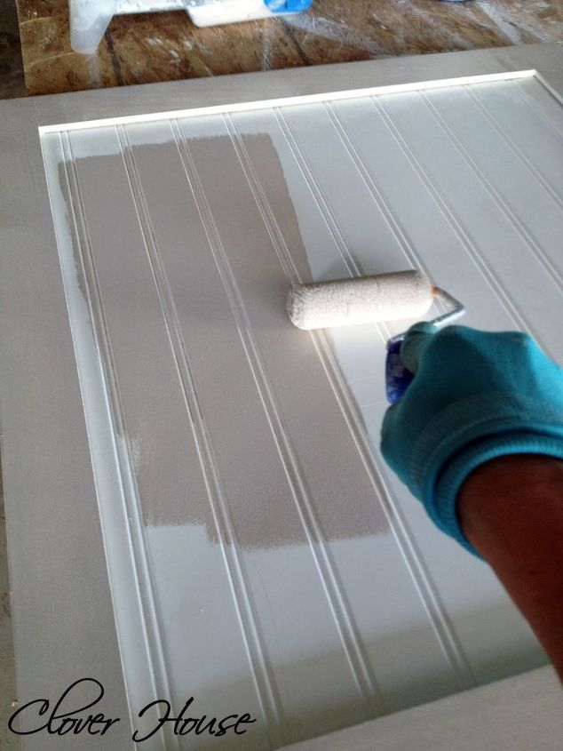painting our laundry room cabinets