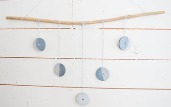 make a moon phase wall hanging
