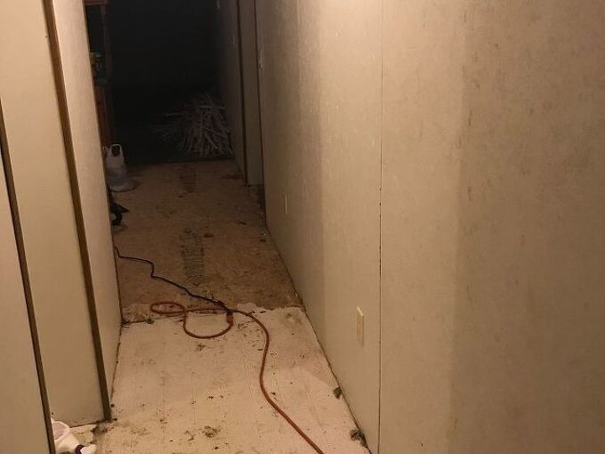 q what is the best method for mudding wall seams in a modular home