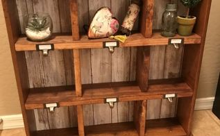 drawer to cubby shelf