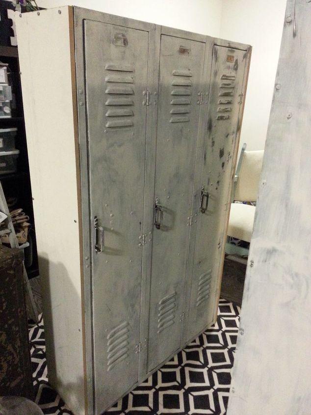 1940 s school lockers recreated