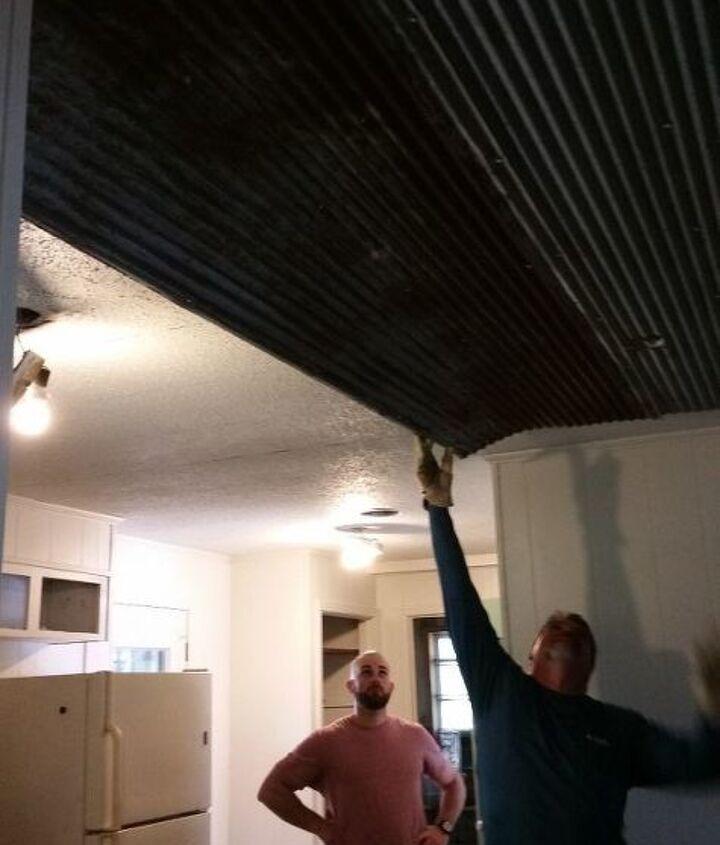 tin ceiling tutorial