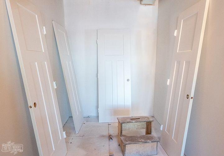 How To Spray Paint Install Interior Doors Hometalk