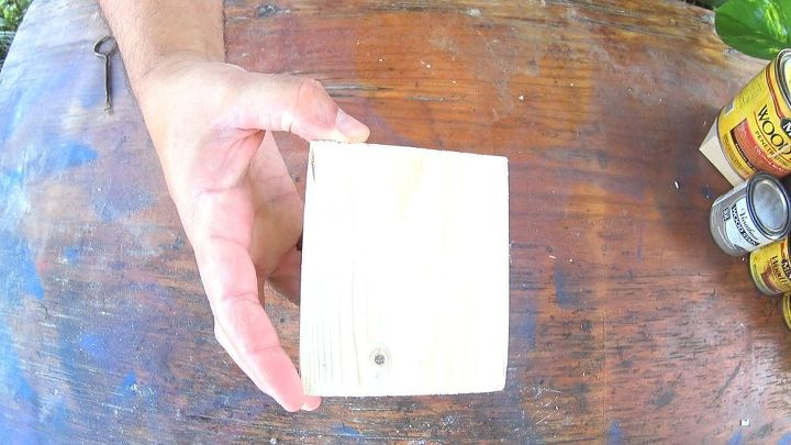 Pine board blank