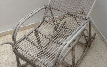 q any ideas for this old rocking chair