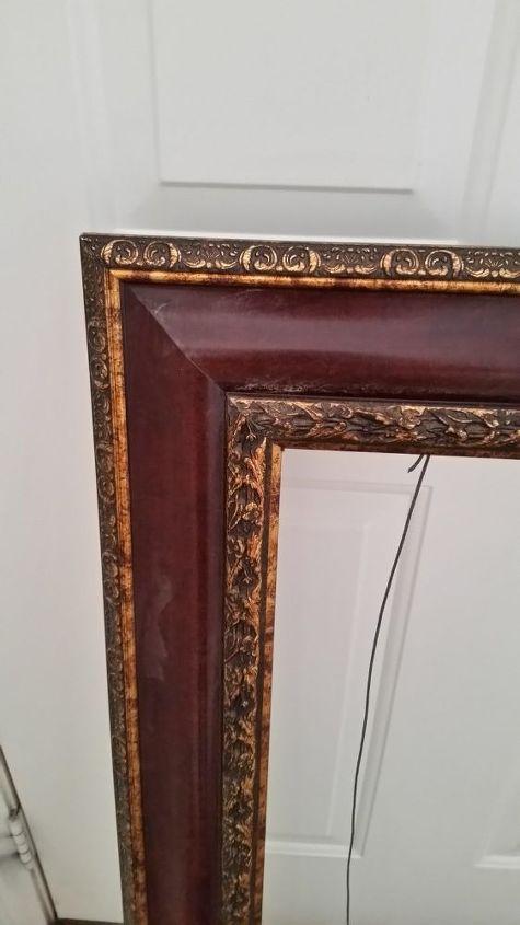 q large plastic frame