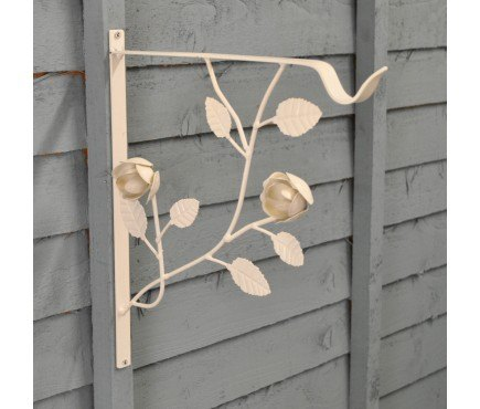 q has anyone used decorative wall brackets for a hanging clothes rail