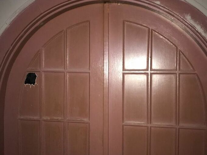 q how can i remove paint from very old arched french doors all painted
