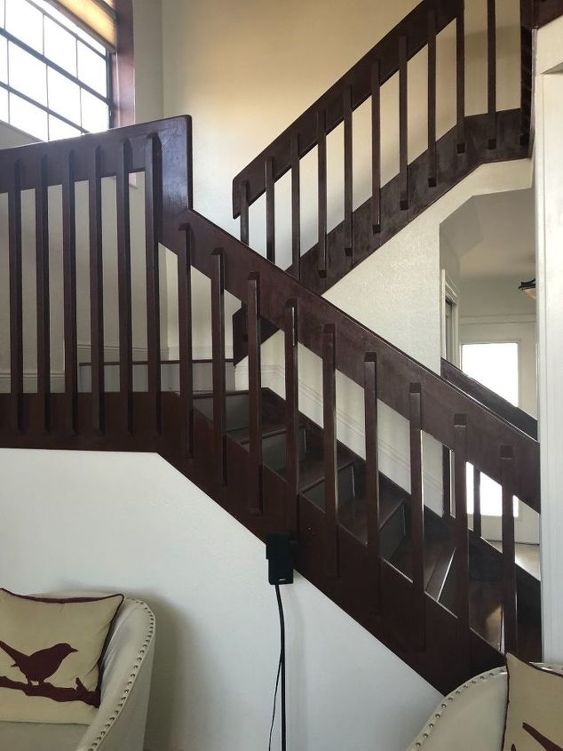 q stairs handrail and balusters