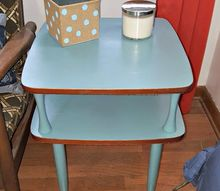 retro side table makeover