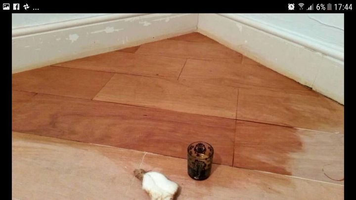q diy floorboards staining