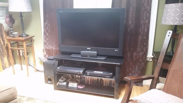 tv console diy