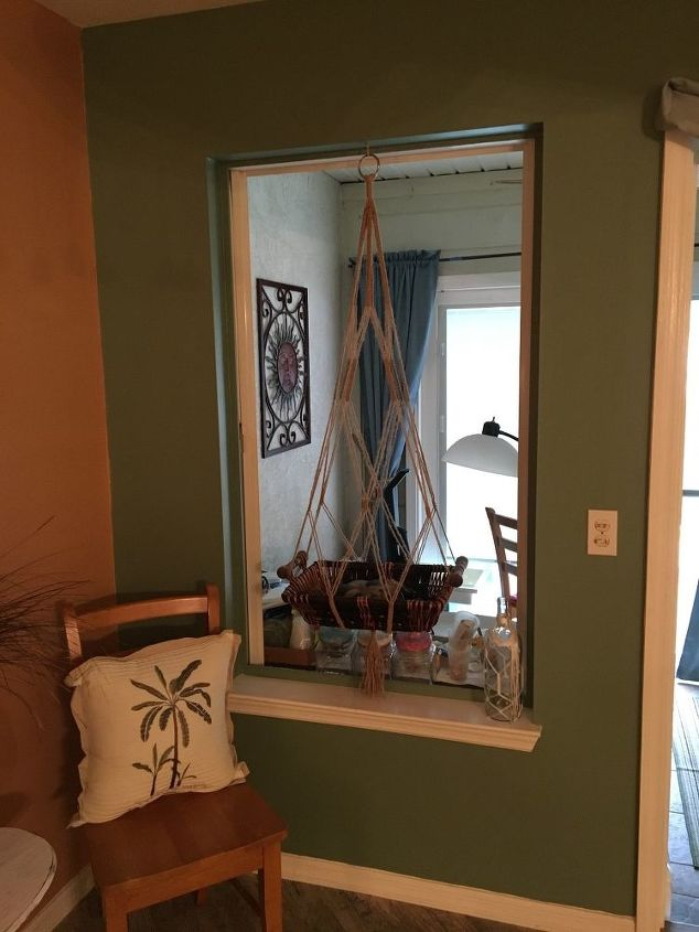q what to do with window after enclosing outside patio
