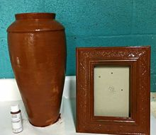 how to paint an aged rust finish