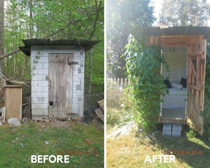 outhouse to summer house