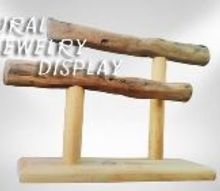 natural jewelry display stand, Natural Jewelry Display Stand