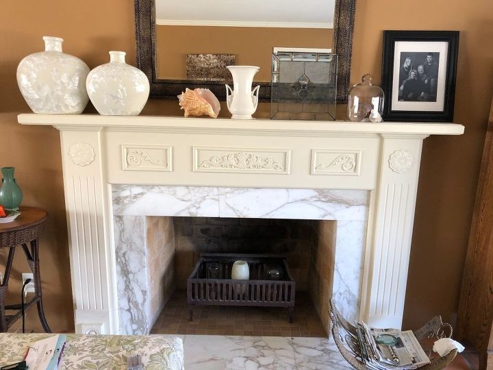 q we want to update our fireplace what tips do you have