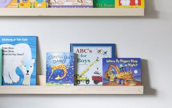 How to DIY Book Ledges for Your Nursery