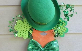 st patrick s day door hanger