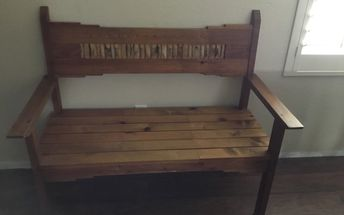 q sharp edges on bench