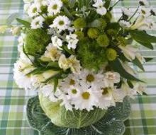cabbage vase centerpiece diy for st patrick s day