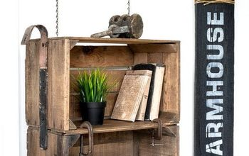Making a 'faux'  Industrial Crate Cart That's 'real' Cool...