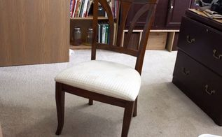 the easy way to reupholster a chair set