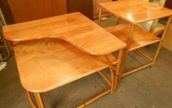 Vintage Watermarked Table Restore