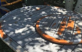 Turn a Dull Patio Table Into Something Special