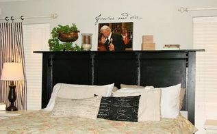 building an inexpensive king sized headboard