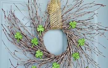 easy st patrick s day wreath