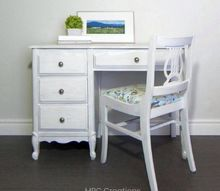 desk and chair makeover