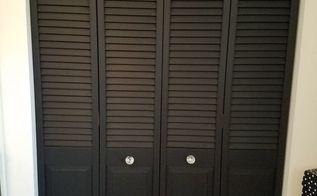 diy bi fold closet door makeover