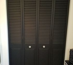 Diy Bi Fold Closet Door Makeover